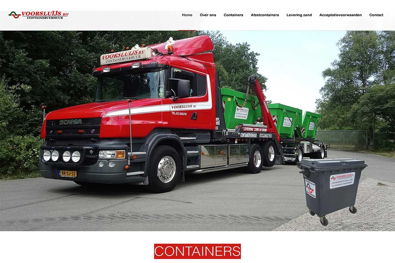 Voorsluijs Containers | Portfolio Mary Alexander Graphic Design | Maarn